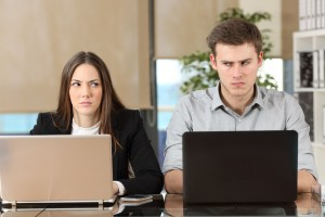 The 3 Top Signs Your Co-Worker Hates You on callsprout.com